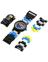 LEGO Kids' 9009983 Bad Cop Plastic Watch with Link Bracelet and Figurine