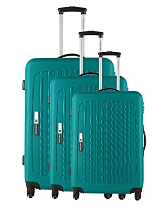 Platinium Set 3 Trolleys 4 Ruedas Tonga (Verde)