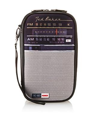 Ted Baker Transistor Radio Utility Bag, Black Multi
