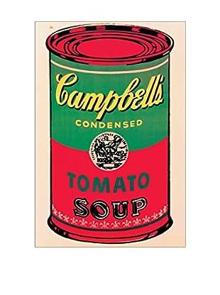 ArtopWeb Panel de Madera Warhol Campbell