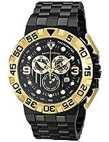 Swiss Legend Men's 10125-BB-11-GA Challenger Analog Display Swiss Quartz Black Watch