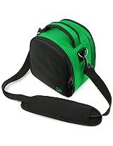 VanGoddy Laurel DSLR Camera Carrying Bag with Removable Shoulder Strap for Sigma DP1 Merrill Digital SLR Camera (Forest Green)