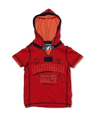 Desigual Camiseta Ohio (Rojo)