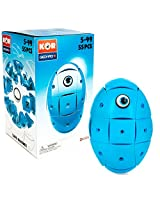 Geomag Kor Egg Blue 55 Piece Creative Magnet Playset Swiss Made Part Of Geomags World Famous Award Winning Product Line Ages 5 And Up