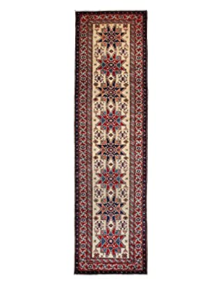 Darya Rugs Fine Kazak Oriental Rug, Ivory, 2' 10