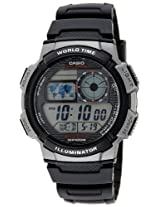Casio Youth Stopwatch Digital Black Dial Men's Watch - AE-1000W-1BVDF (D081)