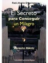 El Secreto para Conseguir un Milagro (La parashá en profundidad) (Spanish Edition)