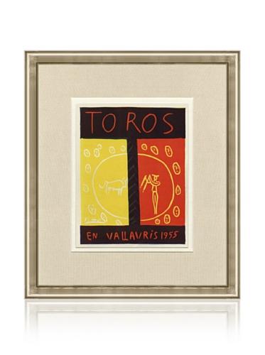 Pablo Picasso Toros en Vallauris, 1959, 16