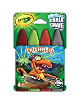 Crayola Build Your Box T-Rex Effects Chalk (4 Count)