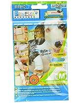 PawFlex Bandages Basic Bandage Set for Pets with 2-Standard and 2-Wide Bandages, Medium