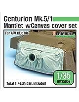 Def Model 1:35 Centurion Mk.5/1 Mantlet W Canvas Cover Set For Afv Club #Dm35058