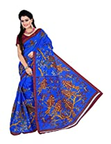 e-VASTRAM Women Bhagalpuri Cotton Silk Saree...