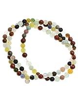 Beadaholique 4mm Round Gemstone Beads, 16-Inch Strand, Assorted