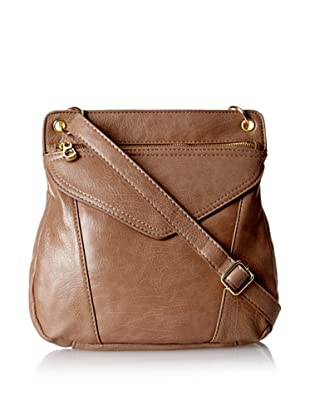 co-lab by Christopher Kon Women's Patch Pocket Cross-Body, Taupe