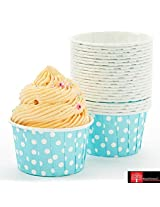 Red Forest Polycoated Cup Shape Paper Cups For Muffins And Cupcakes 20Pc Set