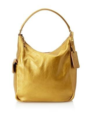 Yves Saint Laurent Women's Soft Leather Tote, Medium Gold
