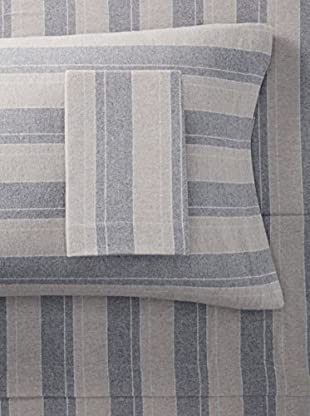 Belle Époque Flannel Sheet Set Plaid