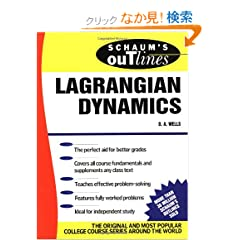 Schaum's Outline of Lagrangian Dynamics (Schaum's Outline Series)