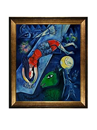 Marc Chagall The Blue Circus Framed Oil Painting, 24