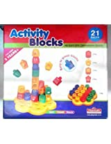 Activity Blocks Playmate 21 Pieces