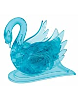 3D Crystal Puzzle - Blue Swan