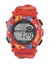 Ego by Maxima Digital Black Dial Men's Watch - E-37201PPDN
