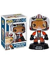 Luke Skywalker (X-Wing Pilot): ~3.75 Funko POP! Star Wars Vinyl Bobble-Head Figure w/ Stand