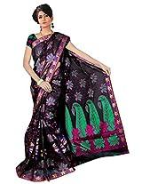 Saree Sansarr Saree (7114_Black)