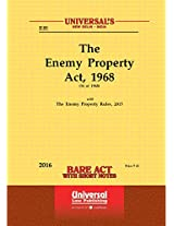 Enemy Property Act, 1968 along with the Enemy Property (Amendment and Validation) Third Ordinance, 2016