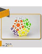 Moyu Yj Yuhu Megaminx White Puzzle