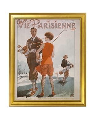 Gargoyles Ltd. Antique Replica La Vie Parisienne Framed Art, 16