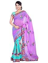 Saikrupatex Women's Georgette Saree(Jay289)