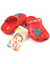 Mee Mee Baby Crocks Red MM-SL 2160(Size-23)