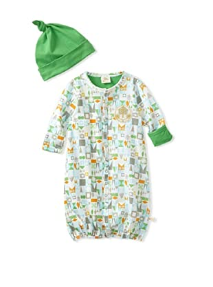 Da Lil Guys Baby Knit Converter with Hat (Green)