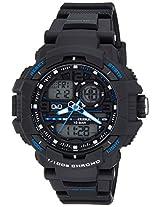Q&Q Analog-Digital Black Dial Men's Watches - GW86J003Y