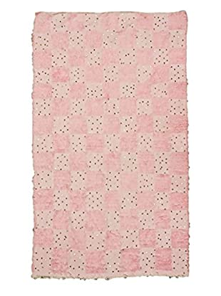 nuLOOM One-of-a-Kind Hand-Knotted Vintage Moroccan Wedding Shawl Rug, Baby Pink, 5' 11