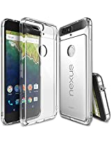 Nexus 6P Case - Ringke FUSION [Crystal View] ** Shock Absorption TPU Bumper Drop Protection **[FREE HD Screen Protector] Premium Clear Hard Back [Anti-Static][Scratch Resistant] for Huawei Nexus 6P