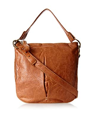 49 Square Miles Women's Starlet Top Zip Shoulder Bag, Wood