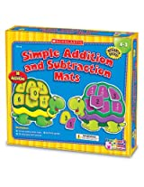 New-Scholastic TF7115 - Addition and Subtraction Mats Kit, Grades K-2 - SHSTF7115