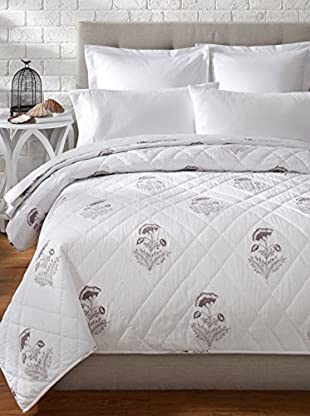 Better Living China Rose Quilt (Taupe)