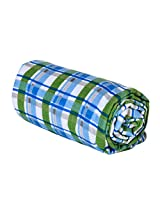 Trend Lab Swaddle Blanket, Blue Plaid