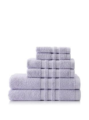 6-Piece Bath Towel Set, Lilac