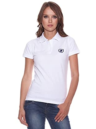 Polo Club Poloshirt Northe Carolina (Weiß/Blau)