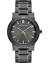 Burberry The New City Gunmetal Ion Unisex Watch Bu9340