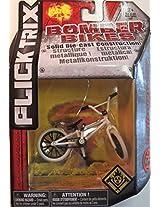 Flick Trix Die-cast Bomber Bikes - Hoffman Bikes (White, Black)