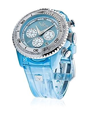 Vip Time Italy Uhr mit Japanischem Quarzuhrwerk VP8032AQ_AQ aquamarin 43.00  mm