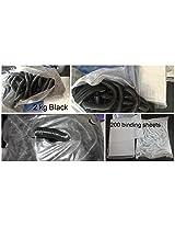 Black Spiral Machine Using Lose Spiral 2 kg pack With Transparent 200 sheets Pro Pack Saving Deal
