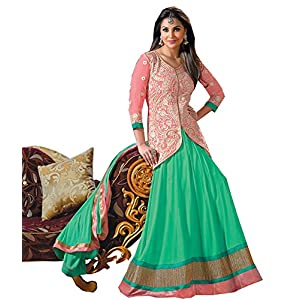Fancy Anarkali Suits Lara Dutta wearing Anarkali Salwar suits, Salwar Kameez, Anarkali Suits, Semi stitched