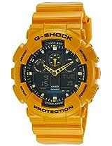G-Shock Analog-Digital Black Dial Men's Watch - GA-100A-9ADR (G273)
