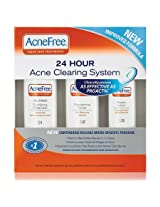 Acnefree 24 Hour Acne Clearing System Kit, 3 Count